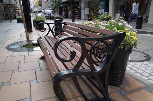 元町のベンチ